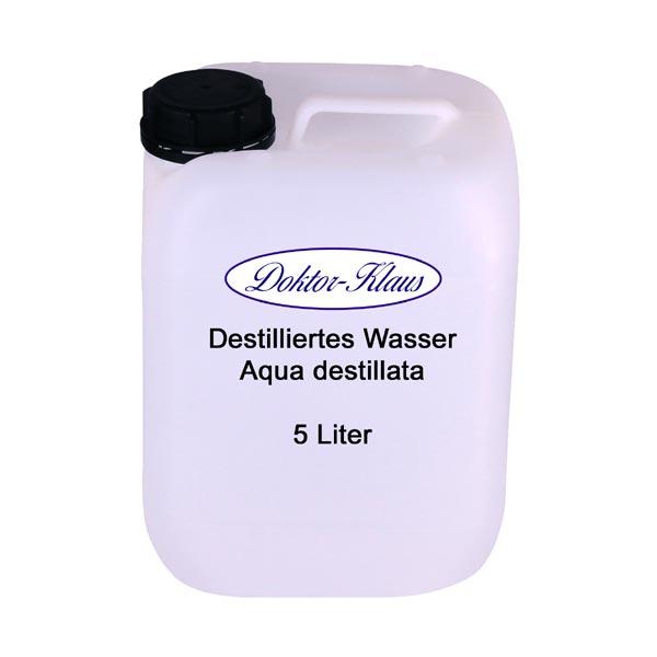 doktor klaus destilliertes wasser aqua dest 5 liter im. Black Bedroom Furniture Sets. Home Design Ideas