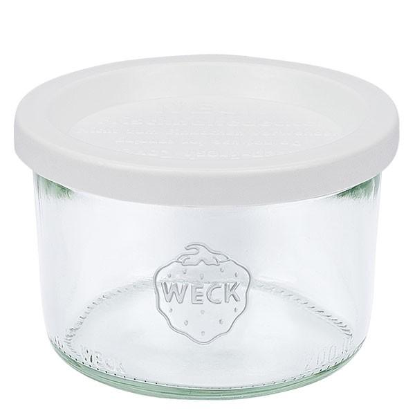 WECK 200ml Sturzglas mit Frischhalte Deckel
