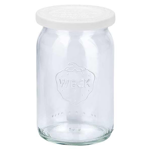 WECK 145ml Zylinderglas mit Frischhalte Deckel