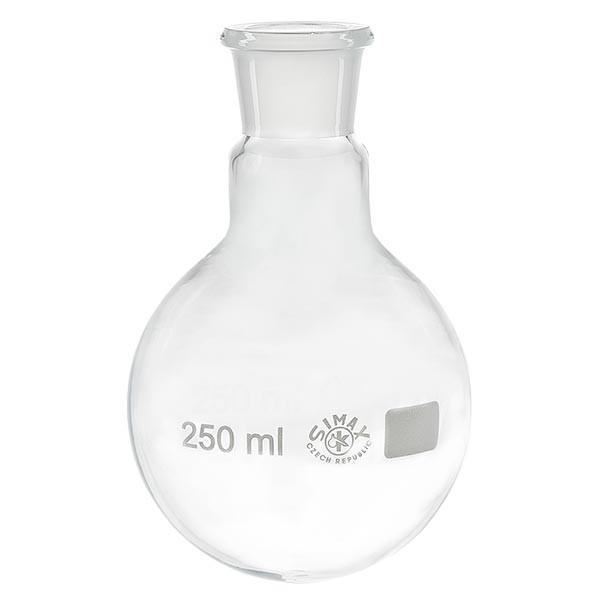 Rundkolben 250ml Weithals Borosilikat mit Normschliff 29/32