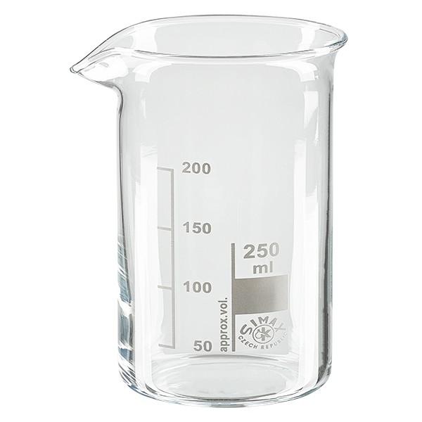 Becherglas 250ml hohe Form