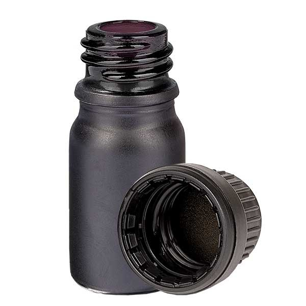 5ml Flasche 11mm SV OV BlackLine UT18/5 UNiTWIST