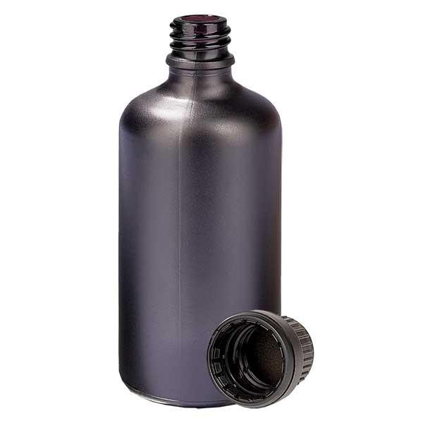 100ml Flasche 11mm SV OV BlackLine UT18/100 UNiTWIST