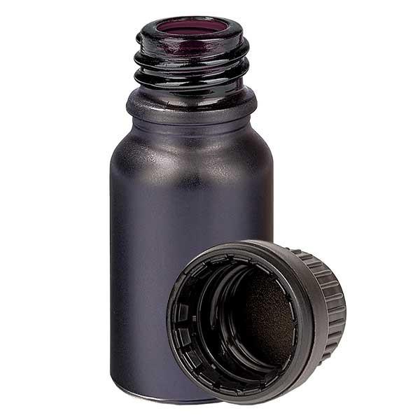 10ml Flasche 11mm SV OV BlackLine UT18/10 UNiTWIST