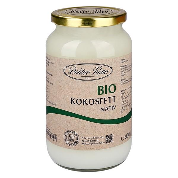 900g Bio Kokosfett nativ Doktor-Klaus noWaste