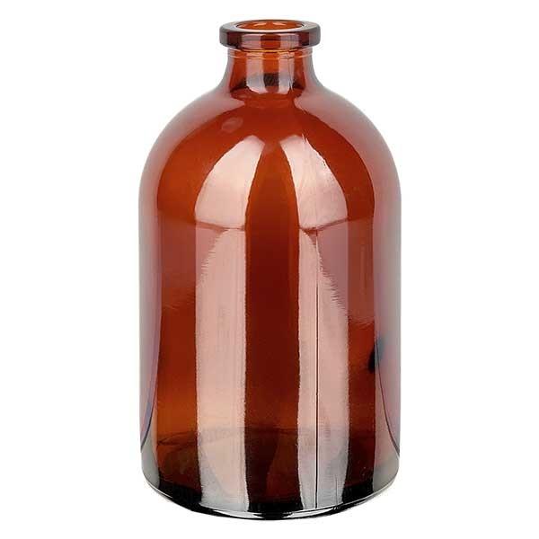 Injektionsflasche Braunglas 100ml - Typ I Hüttenglas