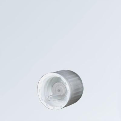 Tropfverschluss weiss 18mm KiSi Standard