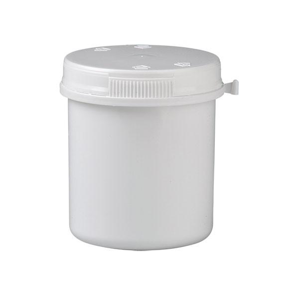 180ml Kunststoffdose weiß mit Press-on