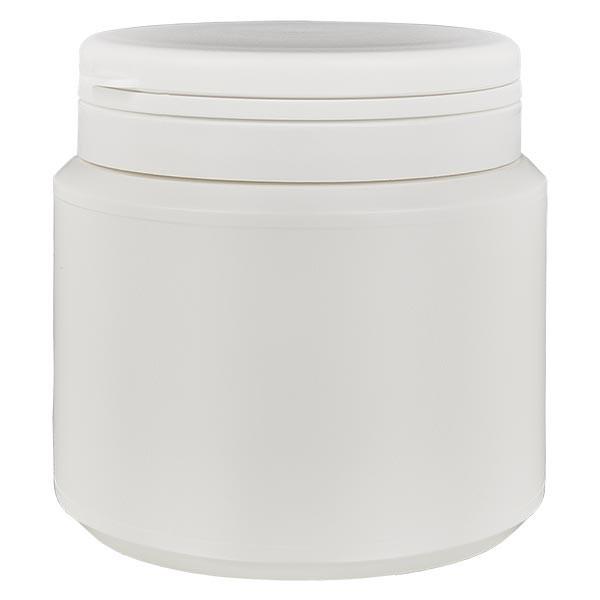 Kapselbox 500 ml weiss mit Jaycap OV weiss