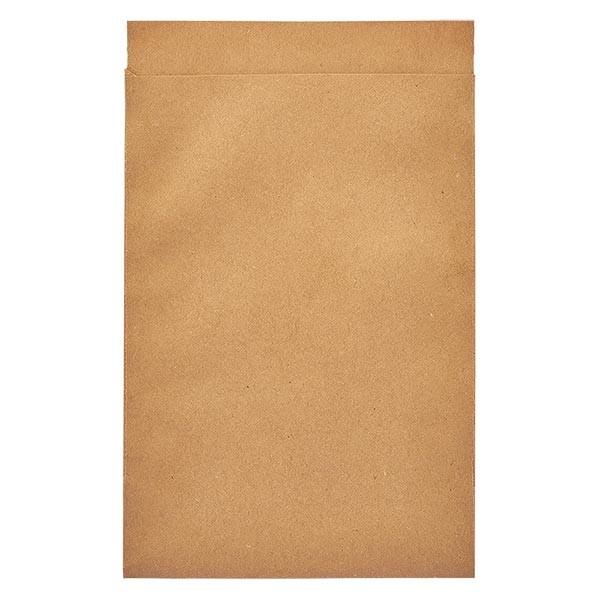 100 Papierbeutel 75 x 117 + 16 mm Klappe