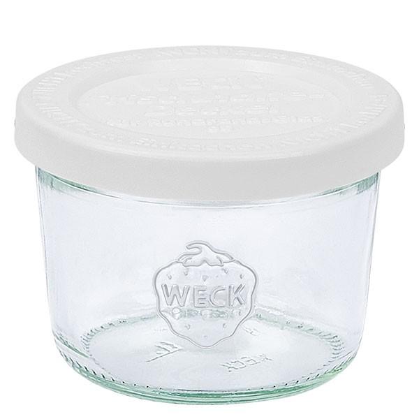 WECK 80ml Sturzglas mit Frischhalte Deckel