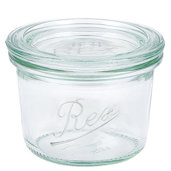 REX-Mini-Sturzglas 80ml mit Deckel