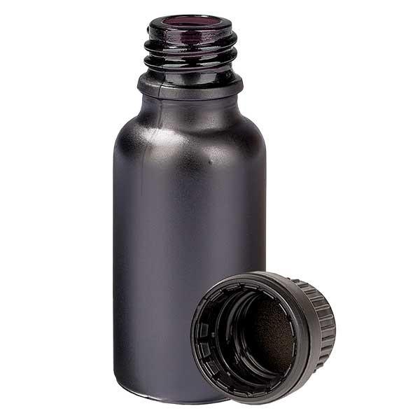 20ml Flasche 11mm SV OV BlackLine UT18/20 UNiTWIST