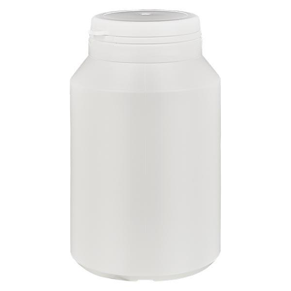 Kapselbox 200 ml weiss mit Jaycap OV weiss