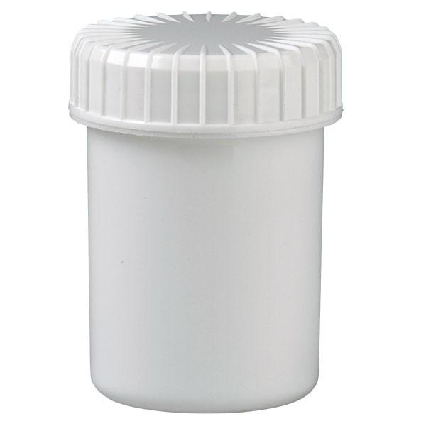 40ml Kunststoffdose weiss mit Schraubdeckel