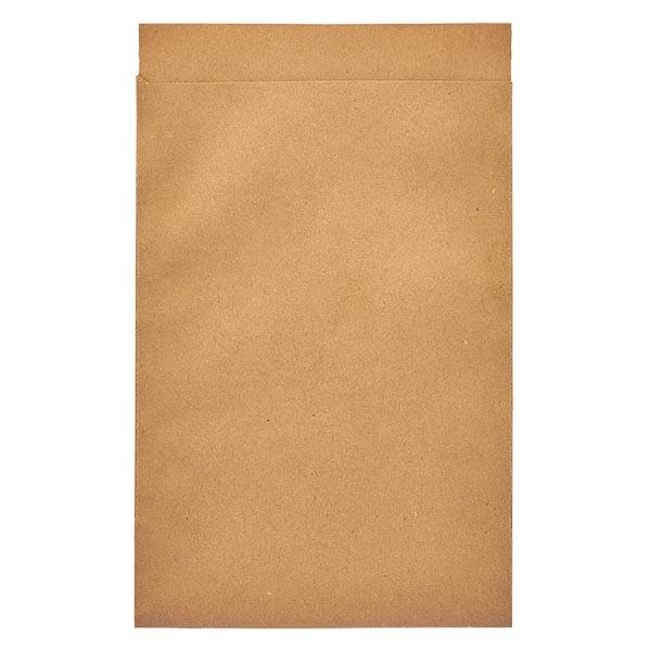 100 Papierbeutel 85 x 132 + 16 mm Klappe