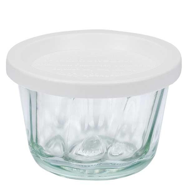 WECK 165ml Gugelhupfglas mit Frischhalte Deckel