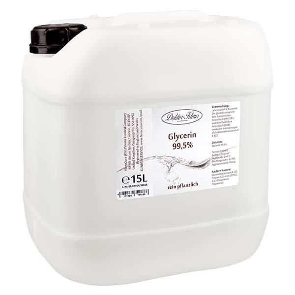 Glycerin 99.5% im 15 Liter HDPE Kanister von Doktor Klaus - E 422