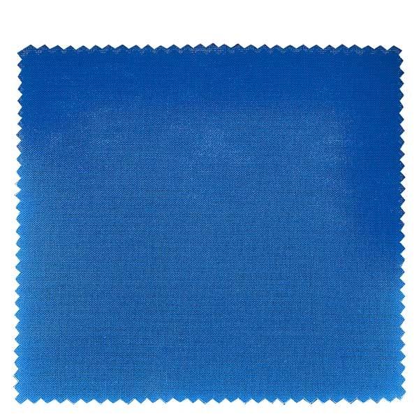 1 x Stoffdeckchen 150x150mm Blau für Deckel Durchmesser 43-100mm