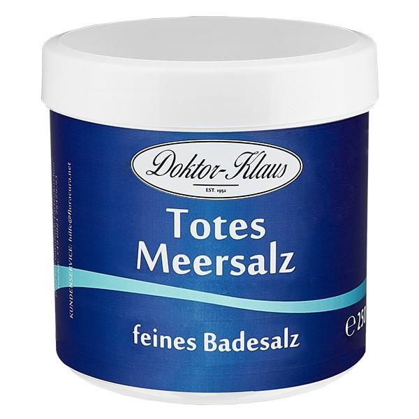 250g Totes Meer Badesalz Premium Doktor-Klaus