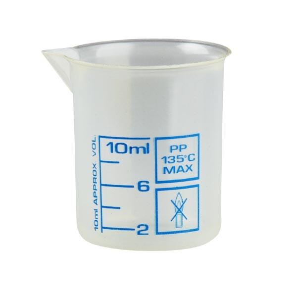 Messbecher / Griffinbecher 10 ml