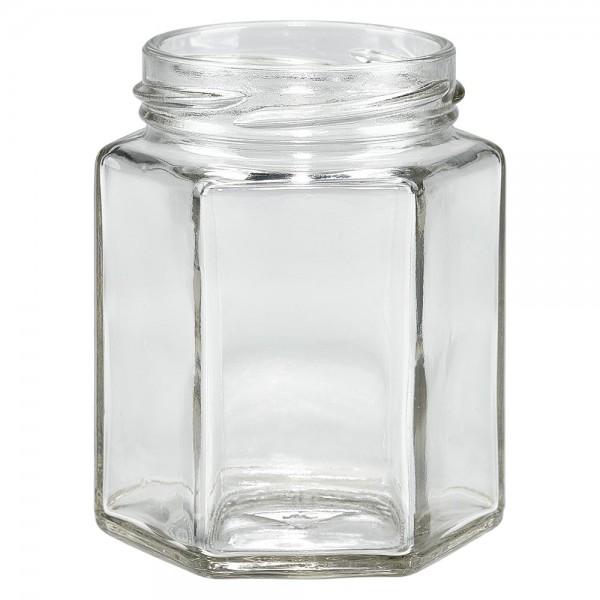 Twist-Off-Glas 196ml 6-Eckglas