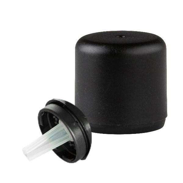 Tropfverschluss 0.7mm schwarz 18mm Exklusiv mit OV