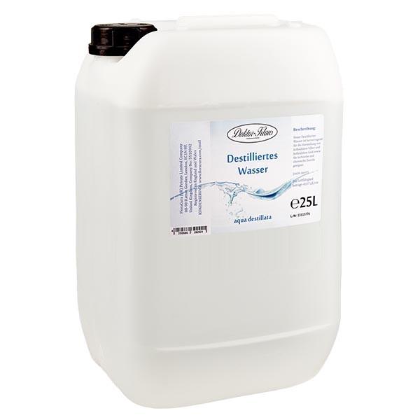 25 Liter destilliertes Wasser / Aqua destillata