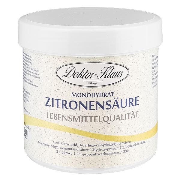 250g Zitronensäure, E330, Lebensmittelqualität
