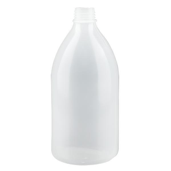 Enghals Laborflasche 500ml ohne Verschluss