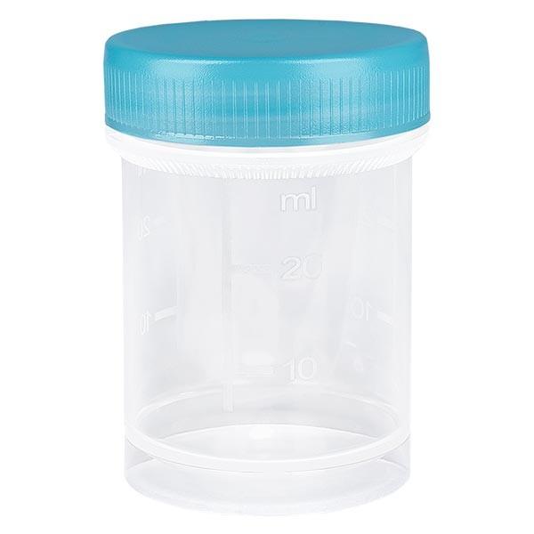 Universal Kunststoffdose (Pathogefäss) 35ml