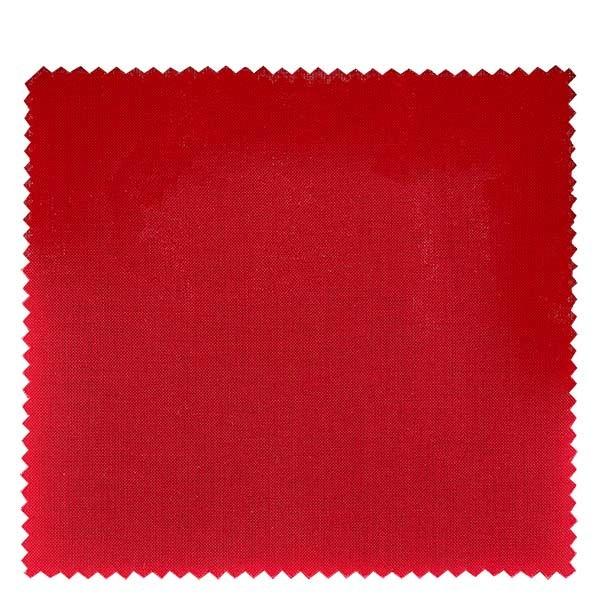1 x Stoffdeckchen 150x150mm Rot für Deckel Durchmesser 43-100mm