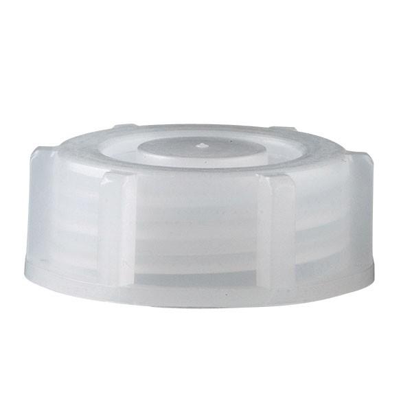 Schraubverschluss für 1000ml Enghalslaborflasche transp. 28mm