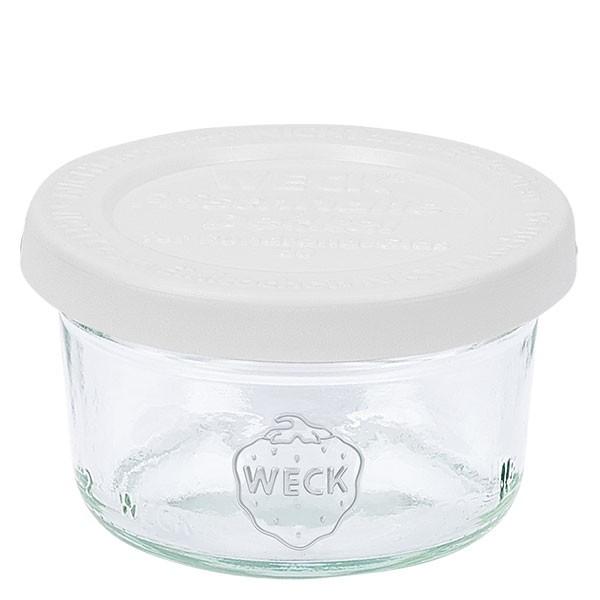WECK 50ml Sturzglas mit Frischhalte Deckel