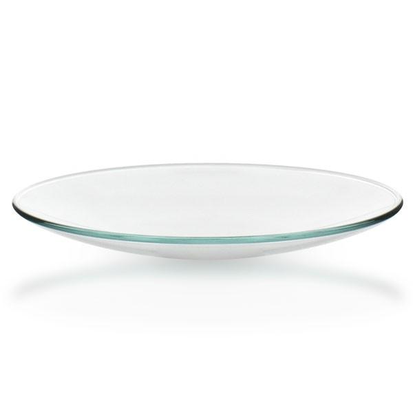 Uhrglasschale 110 mm / Borosilikatglas 3.3 / Rand veschmolzen