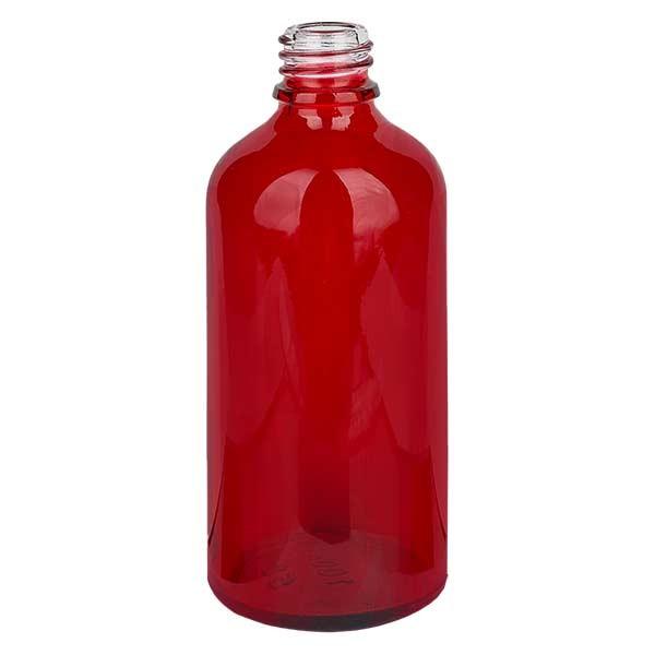 100ml Apothekenflasche RedLine DIN18 UNiTWIST