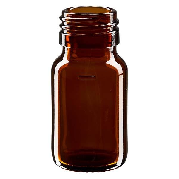30ml Euro-Medizinflasche braun