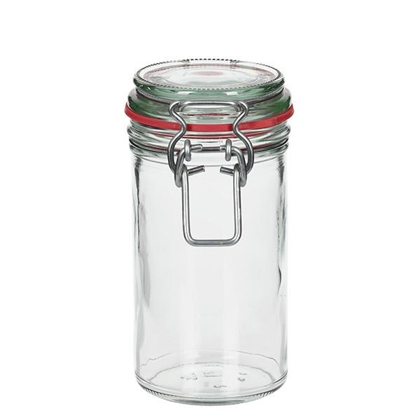 272 ml Drahtbügelglas / Spannbügelglas rund, für Pasteurisation geeignet