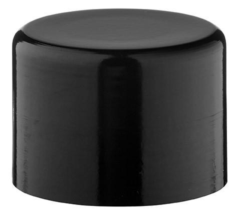 Schraubkappe für 10, 20 und 30ml Alu-Flasche 210/410 schwarz, inkl. Konusdichtung, Verschlussart Sta