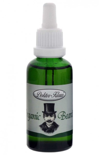 Bart-Öl 50ml Vanille Business Line (Original Organic Beard Oil) von Doktor Klaus