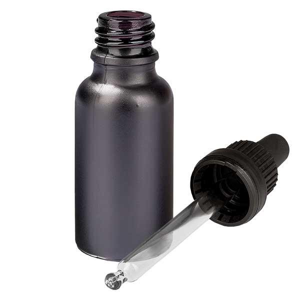 20ml Pipettenflasche OV BlackLine UT18/20 UNiTWIST