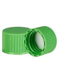 Schraubverschluss grün mit PE Einlage, S20x3