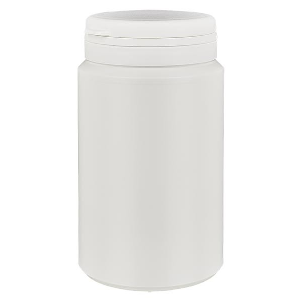 Kapselbox 300 ml weiss mit Jaycap OV weiss