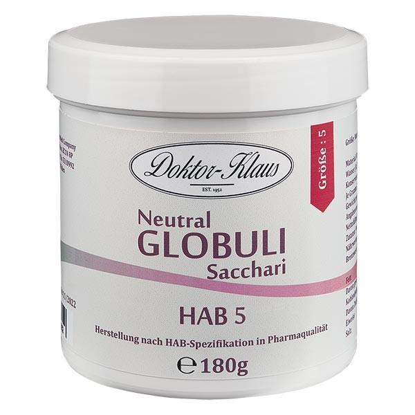 180g Neutral Globuli HAB5 aus 100% reiner Sachharose