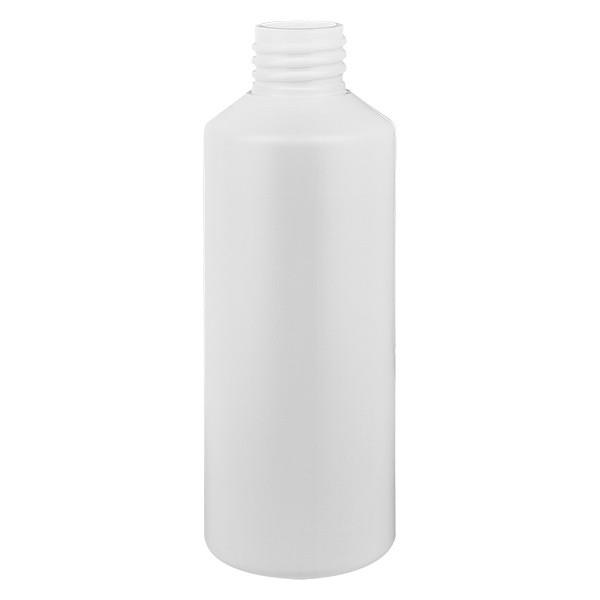 PET Zylinderflasche 100ml weiss, S20x3, ohne Verschluss