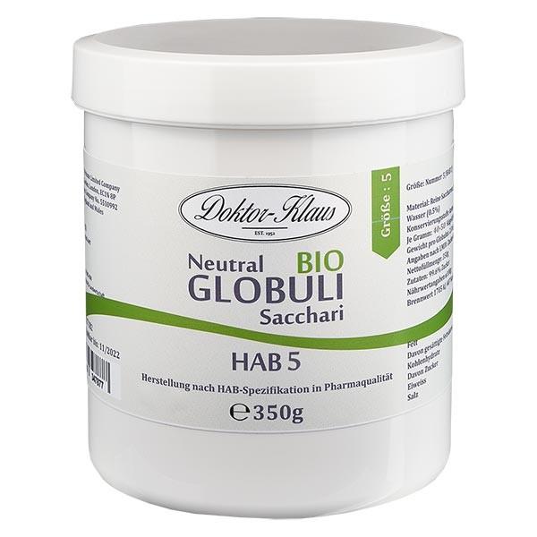 350g Bio Neutral Globuli HAB5 aus 100% reiner Sachharose
