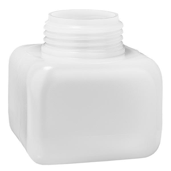 Chemikalienflasche 250ml, Weithals aus PE-HD, naturfarbig, GL 50