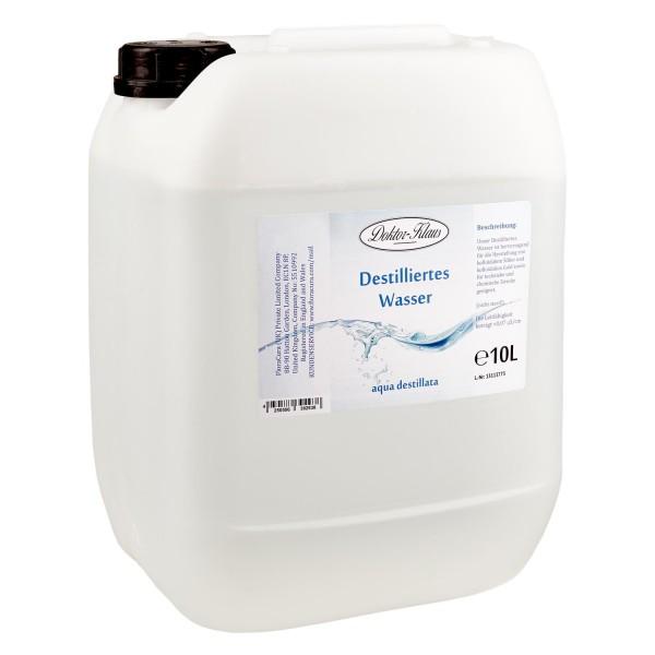 10 Liter destilliertes Wasser / Aqua destillata