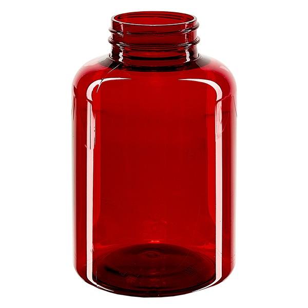 Petpacker 500ml rot Öffn. 45mm ohne Deckel