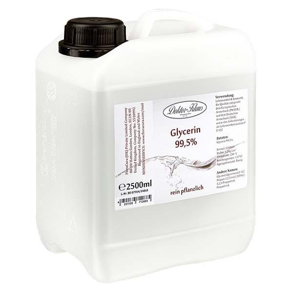 Glycerin 99.5% im 2.5 Liter HDPE Kanister von Doktor Klaus - E 422
